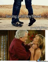 Having A Tall Boyfriend Memes. Best Collection of Funny Having A ... via Relatably.com