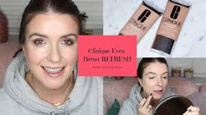 <b>Clinique Even Better Refresh</b> Foundation Review & Swatches ...
