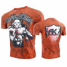 <b>VSZAP Fight Wear Sanda</b> Muay Thai MMA Fitness T Shirt Men High ...