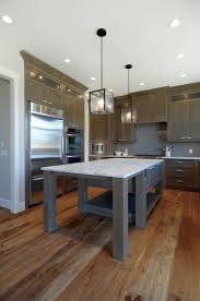 taupe kitchen cabinets wall color