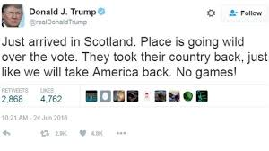Image result for trump twitter fail