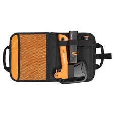 <b>Набор Fiskars</b> в сумке 1025441 топор <b>Х5</b> нож общего назначения ...