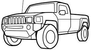 Small Picture Beautiful Coloring Pages Cars Trucks Photos New Printable