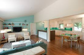 Paint For Open Living Room And Kitchen Open Kitchen Living Room Paint Ideas Nomadiceuphoriacom