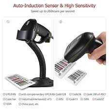 Decdeal <b>Aibecy</b> Automatic <b>USB Barcode Scanner</b> Wired Bar Code ...