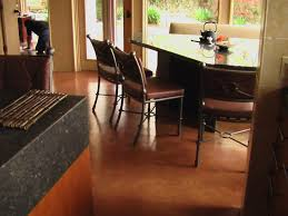 Concrete Floor Kitchen Why Concrete Floors Rock Hgtv