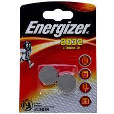 <b>Батарейка</b> литиевая <b>Energizer</b> ENR <b>CR</b> 2032 FSB2, 2 шт. в ...