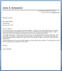 babysitter cover letter sample babysitter cover letter sample cover letter for babysitting job