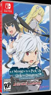 Is It Wrong to Try to Pick Up <b>Girls in a Dungeon</b>? Infinite Combate ...