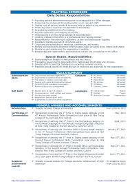 cv resume sample for fresh graduate of office administration cv    cv resume sample for fresh graduate of office administration cv for graduate school sample