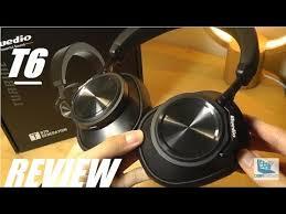REVIEW: <b>Bluedio T6</b> Turbine <b>Bluetooth</b> Headphones (ANC) - YouTube