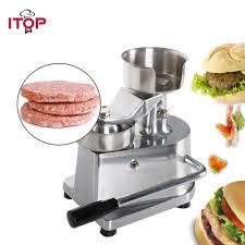 <b>ITOP</b> 100mm 130mm 150mm <b>hamburger</b> press <b>Burger</b> Forming ...