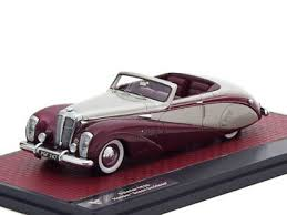 "Scale model car 1:43 DAIMLER DE36 Hooper ""Green <b>Goddess</b> ..."