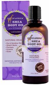 Out Of Africa Shea Butter Body Oil Lavender, 9 fl oz - Fry's Food Stores