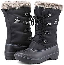 ALEADER Women's <b>Warm</b> Faux Fur Lined Mid Calf <b>Winter Snow</b> ...