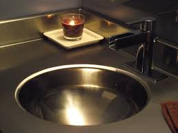 stainless steal bathroom sink stainless steel vanity countertop by ridalco contemporary bathroom
