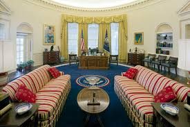 oval office white house. The Clinton Oval Office Circa 1996 White House Museum