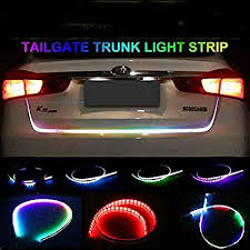 Autotrends Flow Led Strip Trunk / Dicky / Boot / <b>Tail Lights</b> Streamer ...