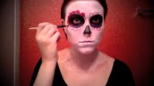 easy day of the dead makeup tutorial 2016 07 26