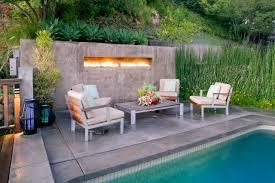 level stone patio designs