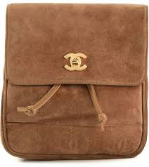 Chanel <b>Vintage Small Backpack</b>, $2,683 | farfetch.com | Lookastic