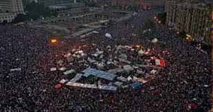 الشرطة المصرية طلابية بميدان التحرير