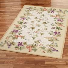 grapes grape themed kitchen rug: vining grapes rectangle rug v  vining grapes rectangle rug