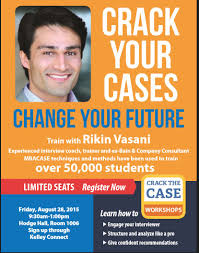 case interview workshop crack the case kelleyconnect kelley are you interested in consulting if you are don t miss this workshop space is limited and this session will only be offered one time this year