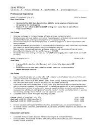 com page of business resume sample resume for bank teller bank teller resume example