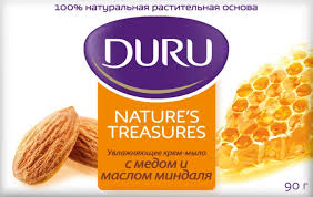 Natural Treas Мыло Медовый Миндаль 90 г <b>Duru</b> — купить в ...