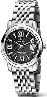 <b>Часы Titoni 83738</b>-<b>S</b>-343 - купить мужские <b>часы</b> в интернет ...