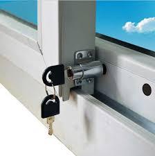 <b>Free Shipping 1PCS</b> Sliding Window Lock with Key Child Safety ...