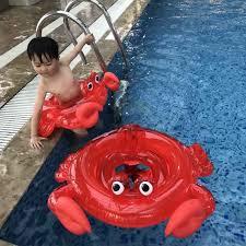 <b>Детский</b> Краб Фламинго кататься на <b>надувной</b> плавающий <b>круг</b> ...