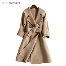AKSLXDMMD Wool Coat Women High Quality Brand <b>2017 New</b>...