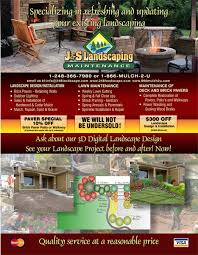 mulch discounts brick paver coupons landscaping specials more spring 2013 specials discounts from j s landscaping in walled lake michigan