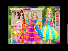 barbie 39 s castle dress up game free kids