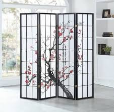 <b>4 Panel Room Divider</b> Privacy Folding Screen Durable Movable ...