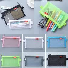 Sale Newest <b>1PC</b> Simple Transparent Mesh Cosmetic Bag <b>Travel</b> ...