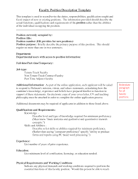 sample resume for college professor position bio data maker sample resume for college professor position entry level college professor resume sample livecareer cover letter academia