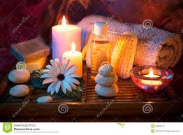 Spa candle <b>stone</b> oil <b>soap</b> stock image. Image of culture - 29882219