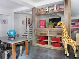 unfinished basement ideas overhaul your unfinished basement decorating and design ideas for interior rooms hgtv bright basement work space decorating