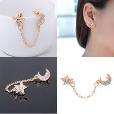 AMPH <b>1 pc Fashion</b> Women Double Piercing Earring | Shopee ...