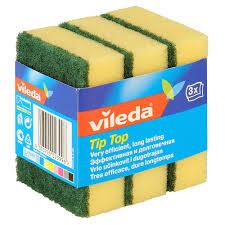 <b>Губка</b> классическая <b>Vileda TIP TOP</b> 3 шт купить недорого в ...