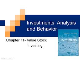 investments analysis and behavior