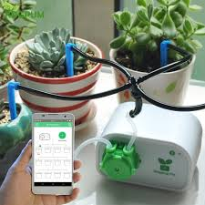 Cell Phone Control Intelligent Garden <b>Automatic Watering</b> Controller ...