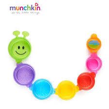 <b>Игрушка для ванны Munchkin</b> Пирамидка Гусеница от 9 мес ...