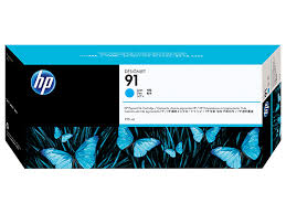 HP® 91 775-ml Cyan DesignJet <b>Pigment Ink Cartridge</b> (C9467A)