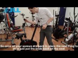 How to Replace the <b>Belt</b> on a JLL® JF150 <b>Exercise Bike</b> « Support ...