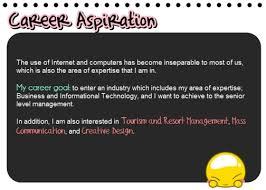 career aspiration sample essay Career Aspiration Quotes. QuotesGram Aspiration Quotes