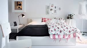 bedroom furniture ikea decoration home ideas: divine images of bedroom decoration using ikea white furniture attractive girl design e